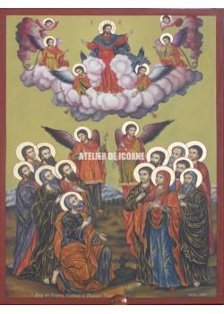Icoana cu Înviere Domnului - Icoană manual pictată