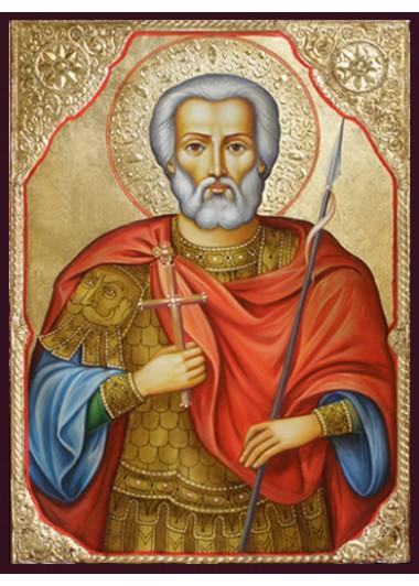Icoane cu sfinți și profeți