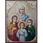 Reproduceri de icoane cu sfinți și profeți