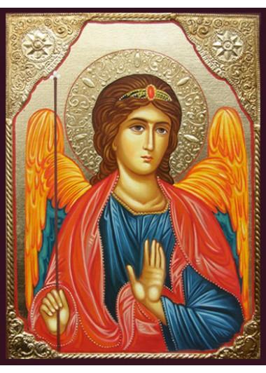 Icoane pictate cu sfinți și profeți