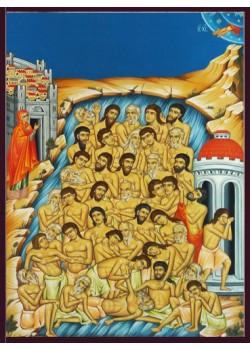 Icoane pictate cu scene din Biblie