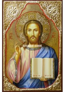 Icoana lui Iisus Hristos - Ocrotitor - Icoană manual pictată