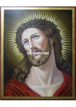 Icoana lui Iisus Hristos cu coroană de spini - Icoane pictate
