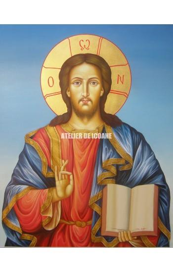 Icoana lui Iisus Hristos - Pantocrator - Icoane pictate