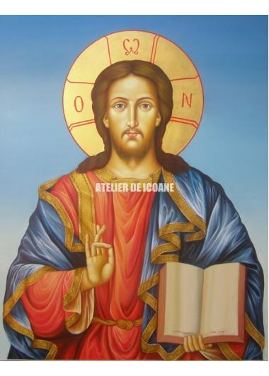 Icoana lui Iisus Hristos - Pantocrator - Reproducere