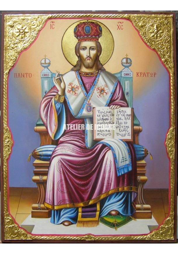 Icoana lui Iisus Hristos Marele arhiereu - Icoane pictate