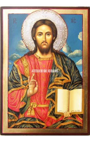 Icoana lui Iisus Hristos - Icoană manual pictată