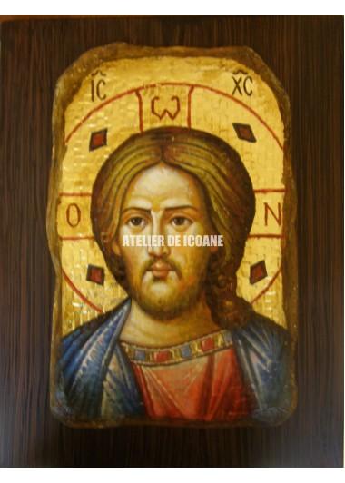 Icoana lui Iisus Hristos – mozaic - Reproducere