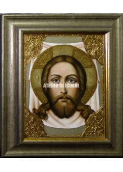Icoana lui Iisus Hristos – sfântul Mântuitor – nefâurit de mână –Sf. Ubrus - Icoane pictate