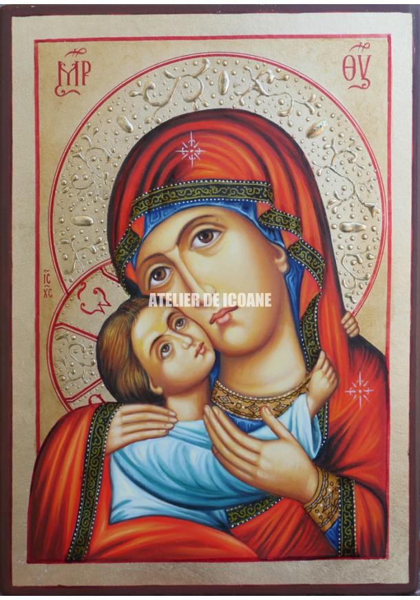 Icoana cu Sfânta Născătoare de Dumnezeu - Icoane pictate