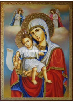 Icoana miraculoasă cu Preasfânta Născatoare de Dumnezeu– Demna Est - Reproducere