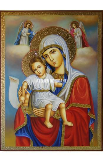 Icoana miraculoasă cu Preasfânta Născatoare de Dumnezeu– Demna Est - Icoane pictate