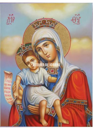 Icoana miraculoasă cu Sfânta Maica Domnului – Demna Est - Reproducere
