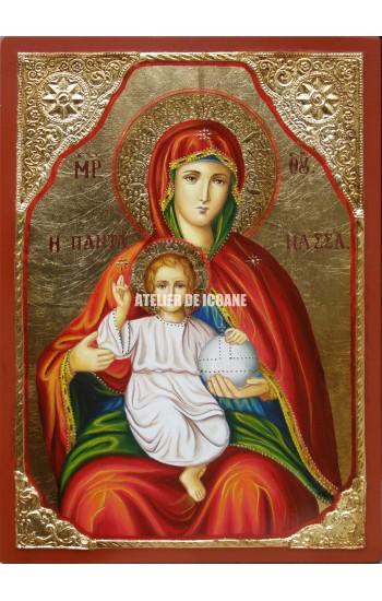 Icoana cu Sfânta Fecioară cu Pruncul - Icoane pictate