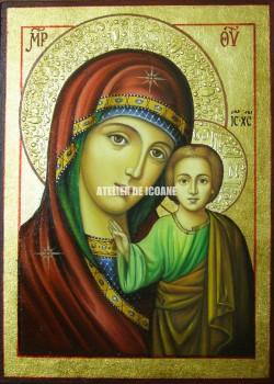 Icoana miraculoasă cu Sfânta MaicaDomnului din Kazan - Icoane pictate