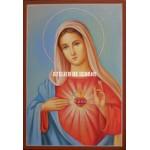 Icoana cu Sfânta MaicaDomnului – imagine pitorescă - Icoană manual pictată