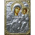 Icoana miraculoasă cu Sfânta Maica Domnului cu Pruncul – de înaltă calitate - Icoană manual pictată