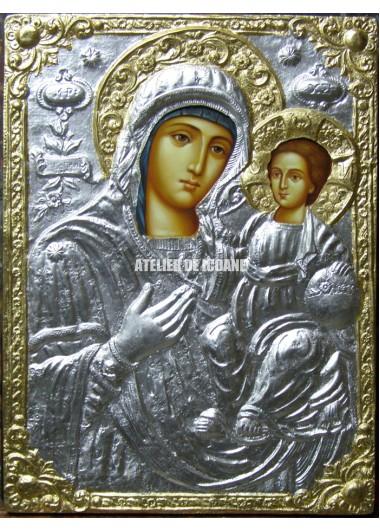 Icoana miraculoasă cu Sfânta Maica Domnului cu Pruncul – de înaltă calitate - Icoane pictate