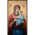 Icoana cu Sfânta Născătoare de Dumnezeu– Îndrumătoare - Icoană manual pictată