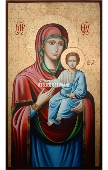 Icoana cu Sfânta Născătoare de Dumnezeu– Îndrumătoare - Reproducere
