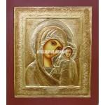 Icoana miraculoasă cu Sfânta Născatoare de Dumnezeu din Kazan - Icoană manual pictată