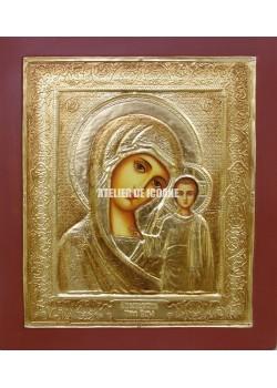 Icoana miraculoasă cu Sfânta Născatoare de Dumnezeu din Kazan - Reproducere