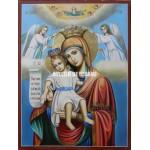 Icoana miraculoasă cu Sfânta Maica Domnului – Demna Est - Mângăitoare - Icoane pictate
