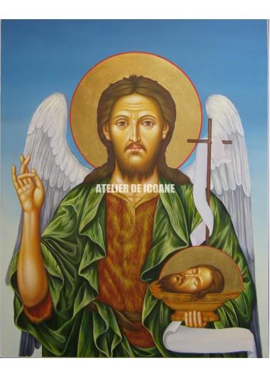 Icoana cu Sfântul Ioan Botezatorul - Reproducere
