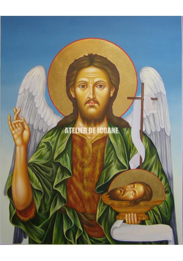 Icoana cu Sfântul Ioan Botezatorul - Icoane pictate