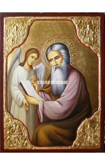 Icoana cu Sfântul Matei Evanghelistul - Icoane pictate