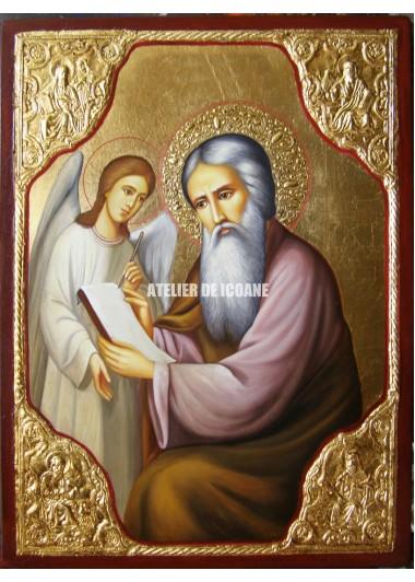 Icoana cu Sfântul Matei Evanghelistul - Reproducere