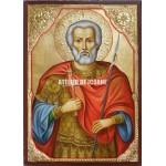 Icoana cu Sfântul Mina - Icoană manual pictată