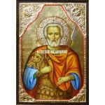 Icoana cu Sfântul Mina – cu ramă - Reproducere