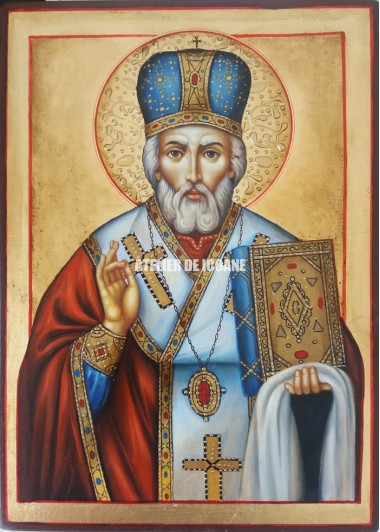 Icoana cu Sfântul Nicolae - Reproducere
