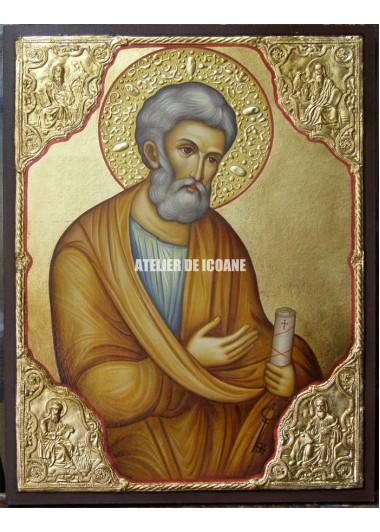 Icoana cu Sfântul Petru - Icoană manual pictată