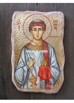 Icoana cu Sfântul Ștefan - Reproducere