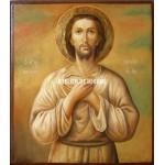 Icoana cu Sfântul Alexie omul lui Dumnezeu - Icoane pictate