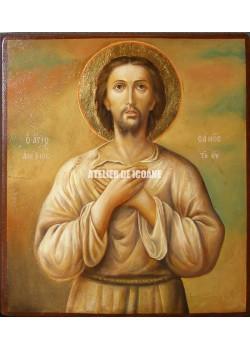 Icoana cu Sfântul Alexie omul lui Dumnezeu - Reproducere