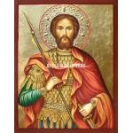 Icoana cu Sfântul Eugen - Reproducere