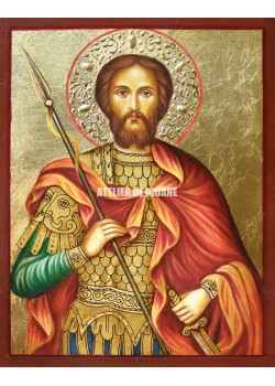 Icoana cu Sfântul Eugen - Icoane pictate