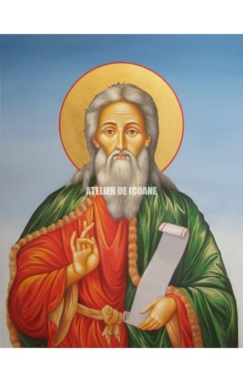 Icoana cu Sfântul Ilie - Icoană manual pictată