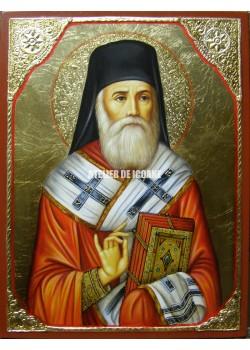 Icoana cu Sfântul Nectarie din Eghina - Reproducere