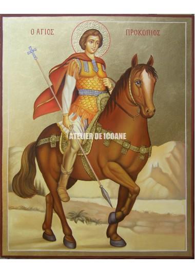 Icoana cu Sfântul Procopie - Icoane pictate