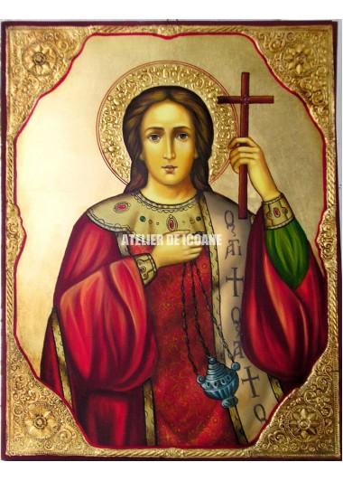 Icoana cu Sfântul Ștefan - Icoane pictate