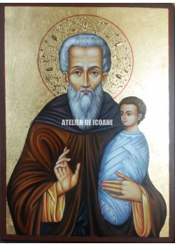 Icoana cu Sfântul Stilian - Icoane pictate