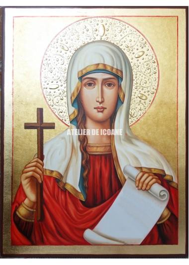 Icoana cu Sfânta Tatiana - Reproducere