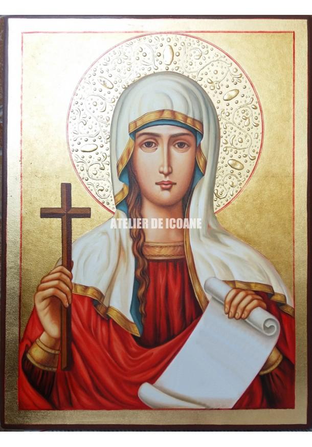 Icoana cu Sfânta Tatiana - Icoană manual pictată