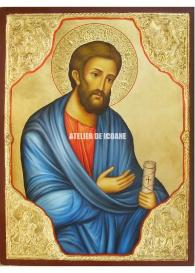 Icoana cu Sfântul Apostol Erm cu Evangheliștii - Icoane pictate