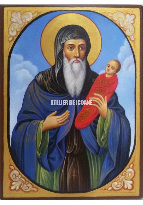 Icoana cu Sfântul Stilian - Reproducere
