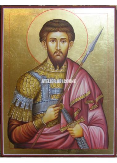 Icoana cu Sfântul Teodor - Reproducere